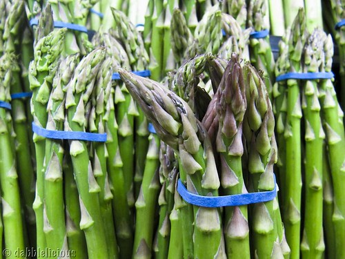 asparagus and chlorophyll