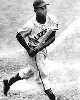 Larry Doby at bat