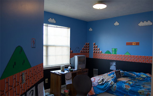 quarto do super mario por Casey Fleser 2