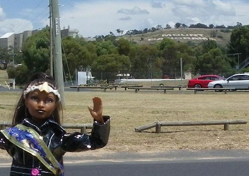 Miss Playtrek at Mount Panorama
