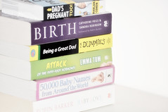 books (botack) Tags: pink portrait baby cute girl female children toys nice nikon shoes pretty dragon sweet birth innocent young objects books pregnant clothes highkey tamron f28 f4 d90 2875mm