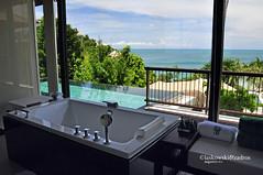 Bathroom, Banyan Tree Samui (Dan & Luiza from TravelPlusStyle.com) Tags: travel vacation sun holiday thailand hotel resort kohsamui luxury tropics 2010 banyantreehotel poolvilla luxuryvilla daniellaskowski privatepoolvilla