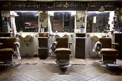 Campus Barber Shop (Joseph Browning) Tags: life nightphotography light art shop night joseph student texas american barber vernacular denton unt browning nostaligic josephbrowning jhbrowning