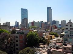 View from the master bathroom (rutlo) Tags: skyline bathroom mexicocity view departamento torremayor cuauhtemoc ciudaddemxico stregishotel