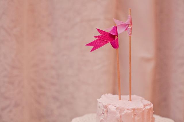 lychee cake with rose yogurt mousse