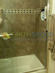 shower-remodeling_02 (Earthgroup Construction) Tags: door tile shower replacement installation bathtub fixture refinishing resurfacing