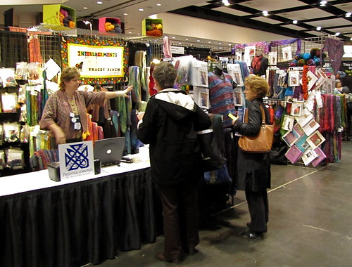 Interlacements booth