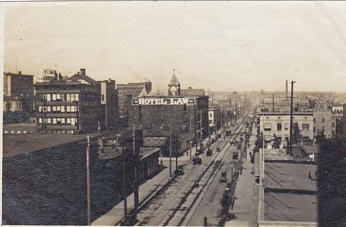 Denver, Colorado. 1909. 'Hotel Law'