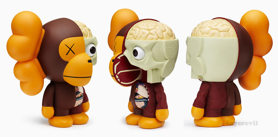 9804faa5 Dissected Baby MILO by KAWS x A Bathing Ape (Feb 26-release)