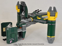 Star Wars Lego 7930 Bounty Hunter Assault Gunship (KatanaZ) Tags: toys starwars lego sugi embo aurrasing bountyhunterassaultgunship lego7930 ig86assassindroid