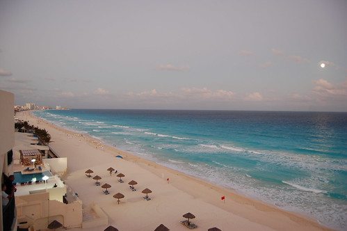 Playa de Cancún Foto 2