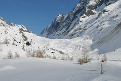Oberhalb Falferalp, Blick Richtung Gletschertor Langgletscher, im Hintergrund Lötschenlücke (Ruedi_F) Tags: lötschental langgletscher fafleralp lötschenlücke