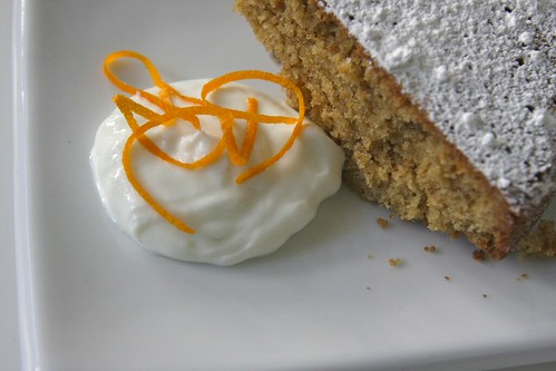 Orange Walnut Cake - Shutterbean