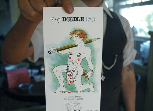 sexy doodle pad