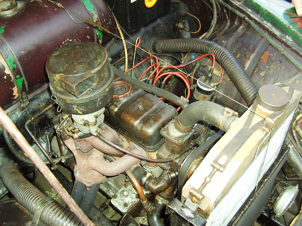 1953 Skoda 1200 - the engine