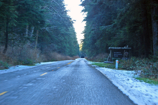 SR 110 spur @ Olympic National Park