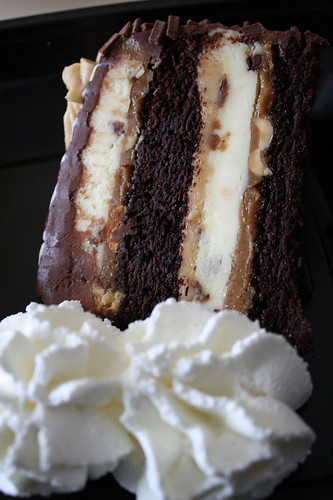 Reese's Peanut Butter Cup Cheesecake-Cheesecake Factory