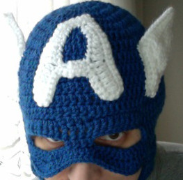 Captain America's mask!