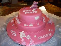 Tauftorte Emma (zucker.rose) Tags: rosa eisenbahn christening mädchen bärchen christeningcake motivtorten tauftorte kindtaufe kindstaufe tauftorten