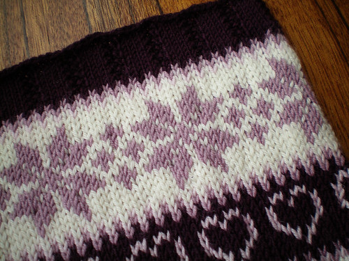 Classic Colorwork Cowl