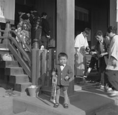 "My ""5"" of 753 () 1961 (asobist) Tags: monochrome japan tokyo jinja hachiman showa   oku arakawaku ogu nishiogu chitoseame oguhachimanjinja"
