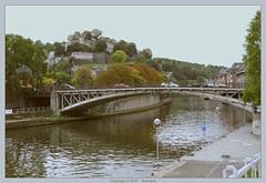 Namur : Citadel and river Sambre (Pantchoa) Tags: river belgium belgique citadel rivire pont quai ciudadela namur wallonie blgica citadelle sambre wallonia ruedupont ferdinandcourtois