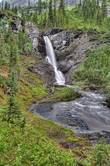 French Creek 1 (John Payzant) Tags: summer creek waterfall alberta hdr freach