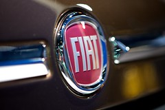Fiat Badge (Joshishi) Tags: auto show new chicago cars logo illinois fiat badge 500 2011 105mmf28dmicro
