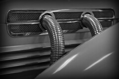 Signature... (tbower) Tags: bw car museum geotagged cord nikon automobile raw nef clevelandohio classiccars vintagecars westernreserve cs5 d3s nikkor70200f28vrii