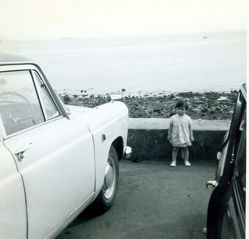 Angela Hull at the Seaside 1960s
