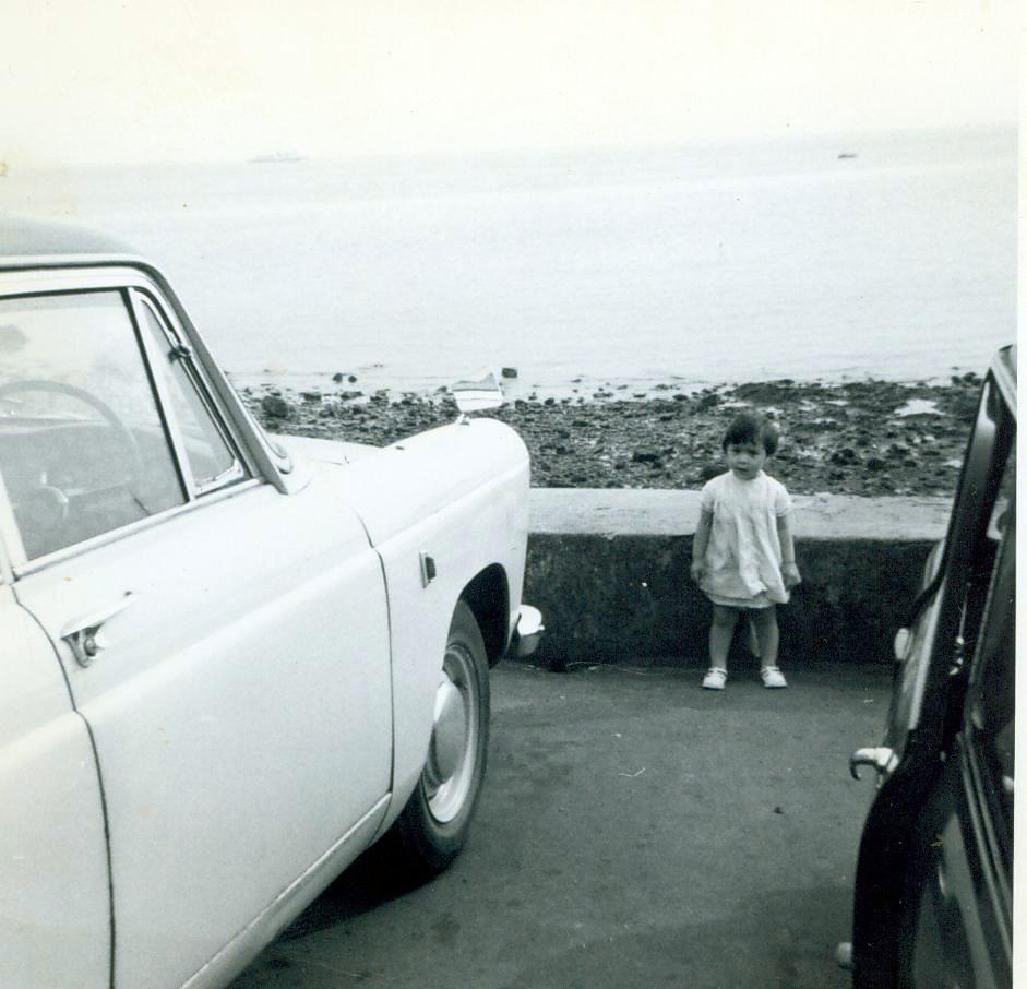 Angela Hull at the Seaside 1960s