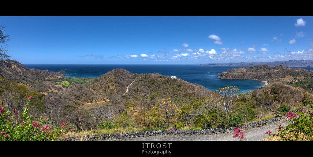View from Mountain Top Cantina at Recreo - Guanacaste, Costa Rica