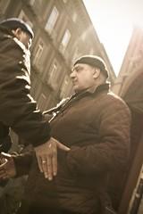 (vrevolo) Tags: street portrait people italy man 35mm canon person fat bn napoli naples passenger aged pedone 2011 mezzogiorno 400d