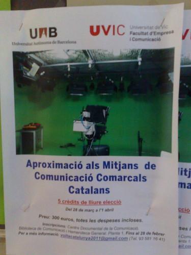 Aproximació als mitjans de comunicació comarcals catalans