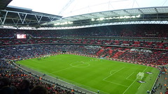 Wembley Stadium (wonker) Tags: city game london english cup ball football team stadium soccer north match arsenal carlingcup footy league wembley premiership wembleystadium carling gunners northlondon premierleague epl leaguecup englishpremierleague thepremiership arsenalvsbirminghamcity