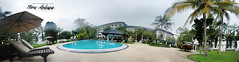 Holiday Inn Kuala Lumpur Glenmarie (Tareq Abuhajjaj | Photography & Design) Tags: light panorama holiday green pool photography lights design photo inn nikon natural arabia kuala poolside 8mm lumpur   tareq 2011    glenmarie     tareqdesigncom tareqmoon tareqdesign  abuhajjaj