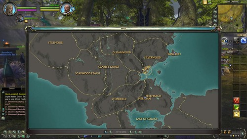 World Map Game. World map for Astra Game