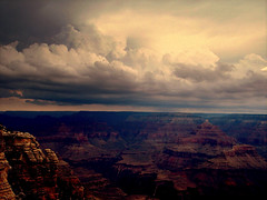 Clouds, Light, Horizon. (Ger Sin) Tags: arizona nature us colorado kodak grand canyon grandcanyonnationalpark