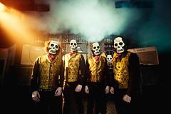 Tiki Phantoms (Ibai Acevedo) Tags: music surf guitar esqueleto tiki instrumental calavera phantoms volcn sumisin bailn