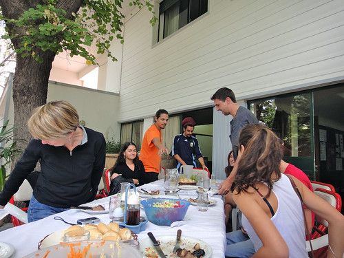 Asado at Intercultural School in Mendoza