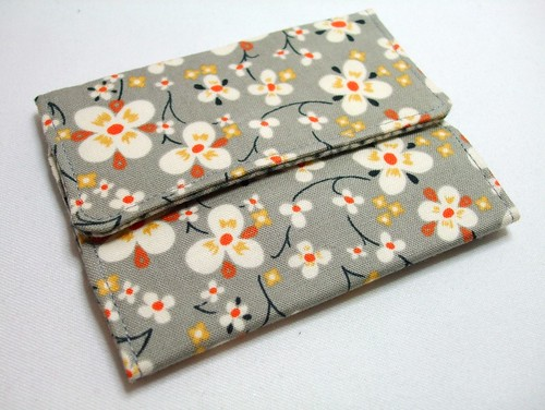 Very Berry Handmade Card Wallet design and tutorial