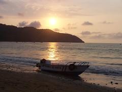 Sunset on Puerto Lopez