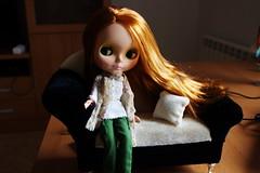 Dafne estrena sofá gracias a la tiita Carmen