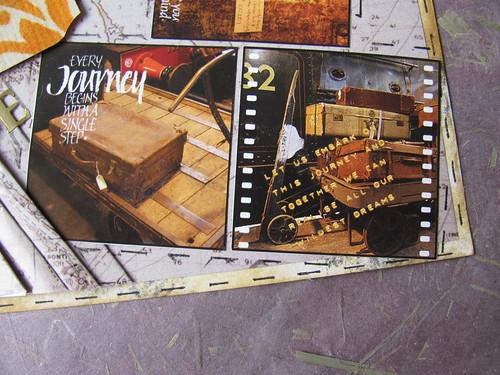 Travel Map Postcard 005