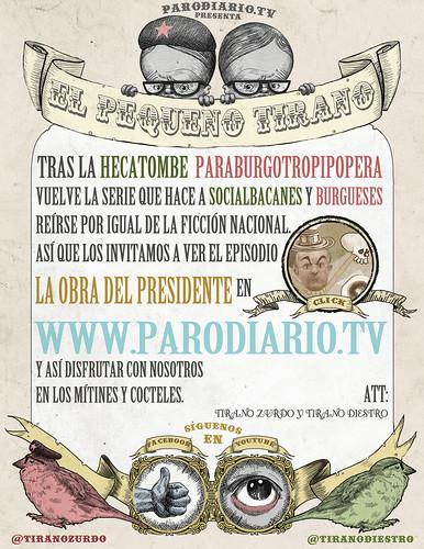 """""""El Pequeño Tirano"""" Newsletter"""