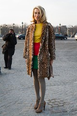 Street Style @ Sonia Rykiel - Paris Fashion