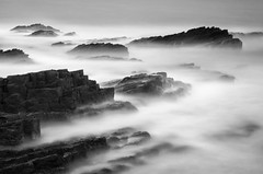 Steps of Silence (Ger208k) Tags: dublin seascape monochrome blackwhite rocks le nd malahide highrock bigstopper 247sec