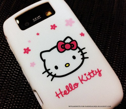 Hello Kitty case for Blackberry