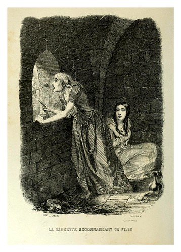 011-La vagabunda reconoce a su hija-Notre-Dame de Paris 1844- edicion Perrotin Garnier Frères