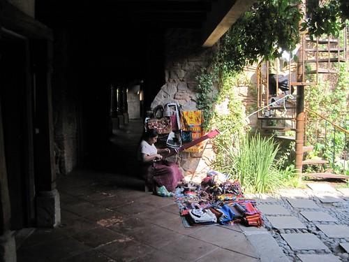local vendor in Guatemala